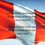ペルーの国歌(我等は自由に、常にそうあらんことを)