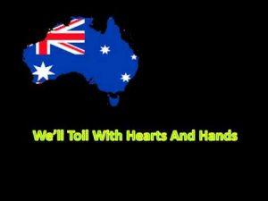 オーストラリア連邦の国歌「進め 美しのオーストラリア」(Advance Australia Fair)