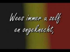 ベルギー王国の国歌「ブラバントの歌」(ラ・ブラバンソンヌ)