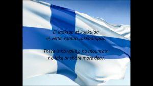 フィンランド国歌「我等の地」(Maamme)