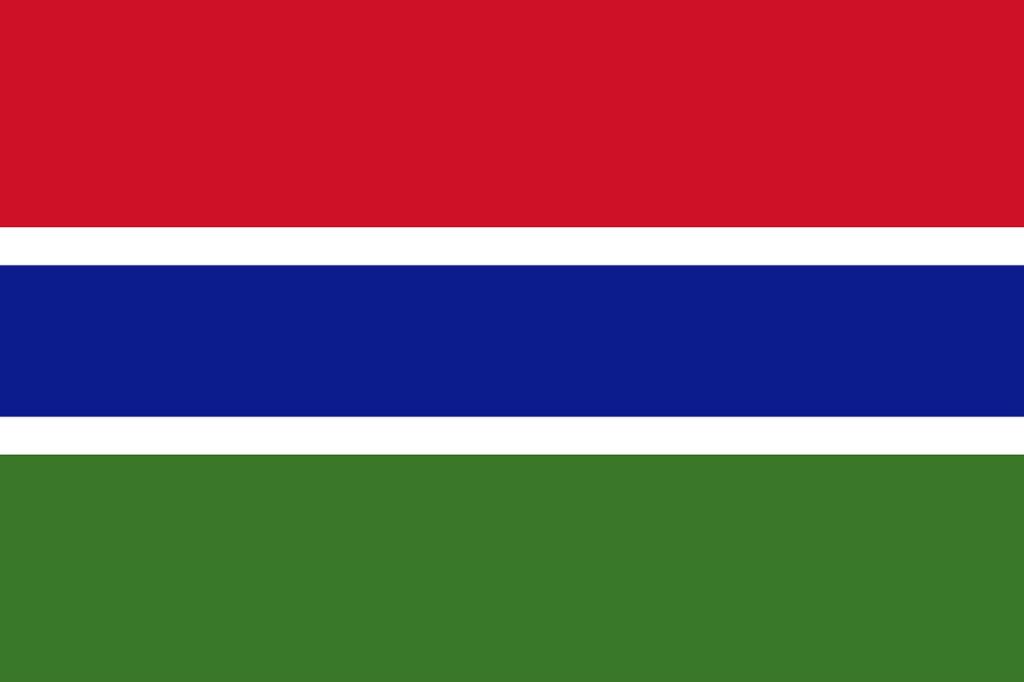 ガンビアの国旗
