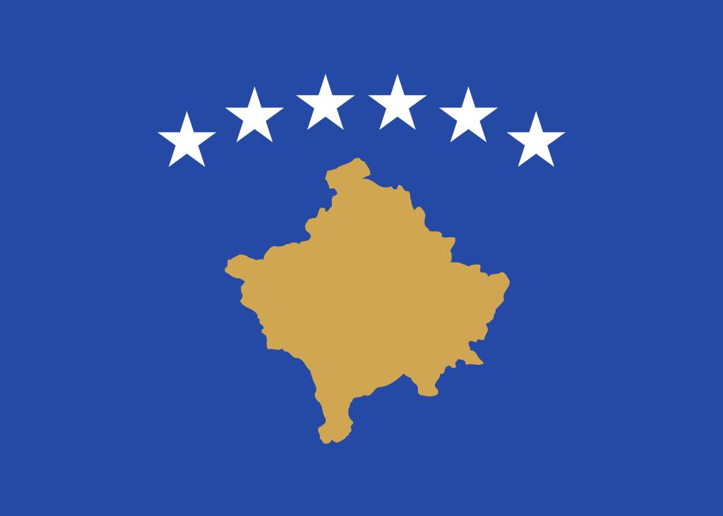 コソボ共和国の国旗